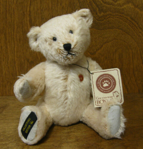 Boyds Plush #50004 TEDDY B BEAR 7 Jointed Event piece NEW/Tag From Retail Store