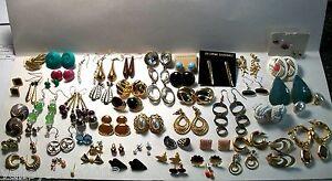 3 pcs LOT FASHION EARRINGS Hoop Dangle Rings Necklaces Bracelets Bangles Mixed