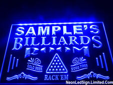 Name Personalized Custom Billiards Pool Bar Beer Sign Pub Led Sign Neon Sign