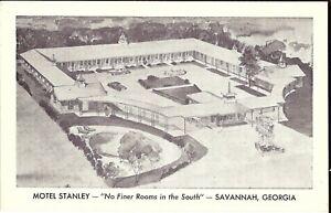 Savannah-GEORGIA-Motel-Stanley-ROADSIDE-old-cars