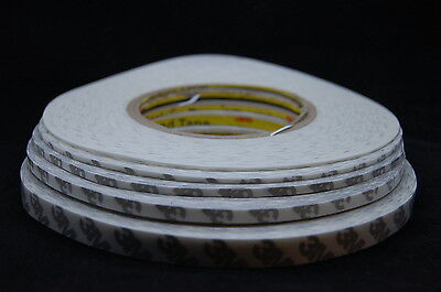 1~10MMx50M NEW 3M 9448HKB STRONG DOUBLE SIDED TAPE MULTIPLE LISTING FOR MOBILE