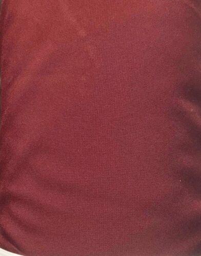 10 mètres vin Polyester Sergé Couture Robe Uniforme Costume Tissu