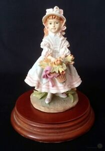 Vintage 1982 Leonardo 'Emily' Figurine - 15cm Tall | FREE Delivery UK*