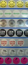 Printed 1 Round Labels 250 Custom Circle Business Stickers 1 Ink Color Roll