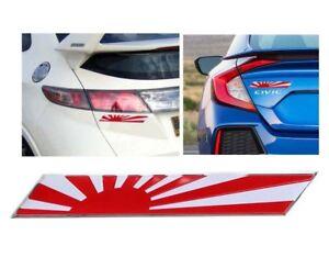Japan Flag Badge Metal Sticker Decal For Mazda Mx5 Na Nb Nc Nd Miata Car