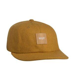 dc6bd1209b769 Huf `18 Wool Box 6 Panel Strapback Hat Mens Cap Headwear New w Tag ...