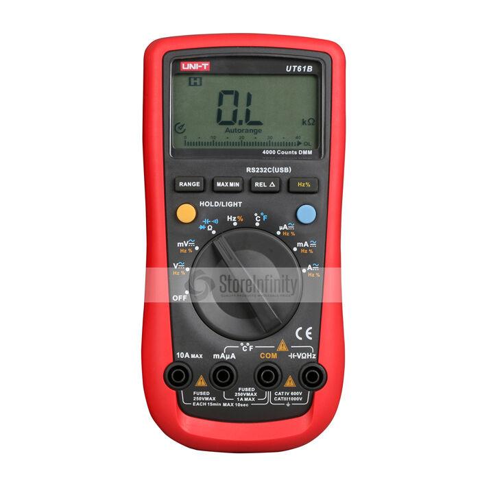 Tester Multimetro Digitale Digitale Digitale PROFESSIONALE UT-61B UNI-T UT61B 792d5a