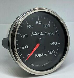 Marshall-5-034-In-Dash-Electronic-Speedometer-Black-Dial-Step-Bezel-2054STP