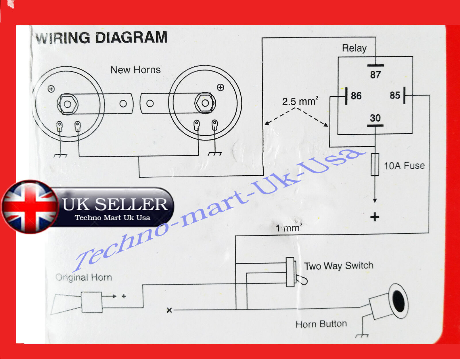 Royal Enfield Wiring Diagram For Horn Archive Of Automotive 12v Bullet All Model Motorbike Unit 4 Pin Relay Rh Ebay Com