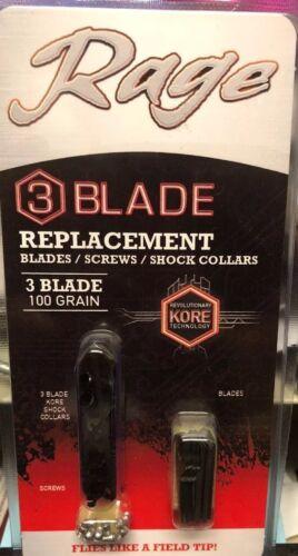 Rage Kore 3 Blade Replacement Blade Kit