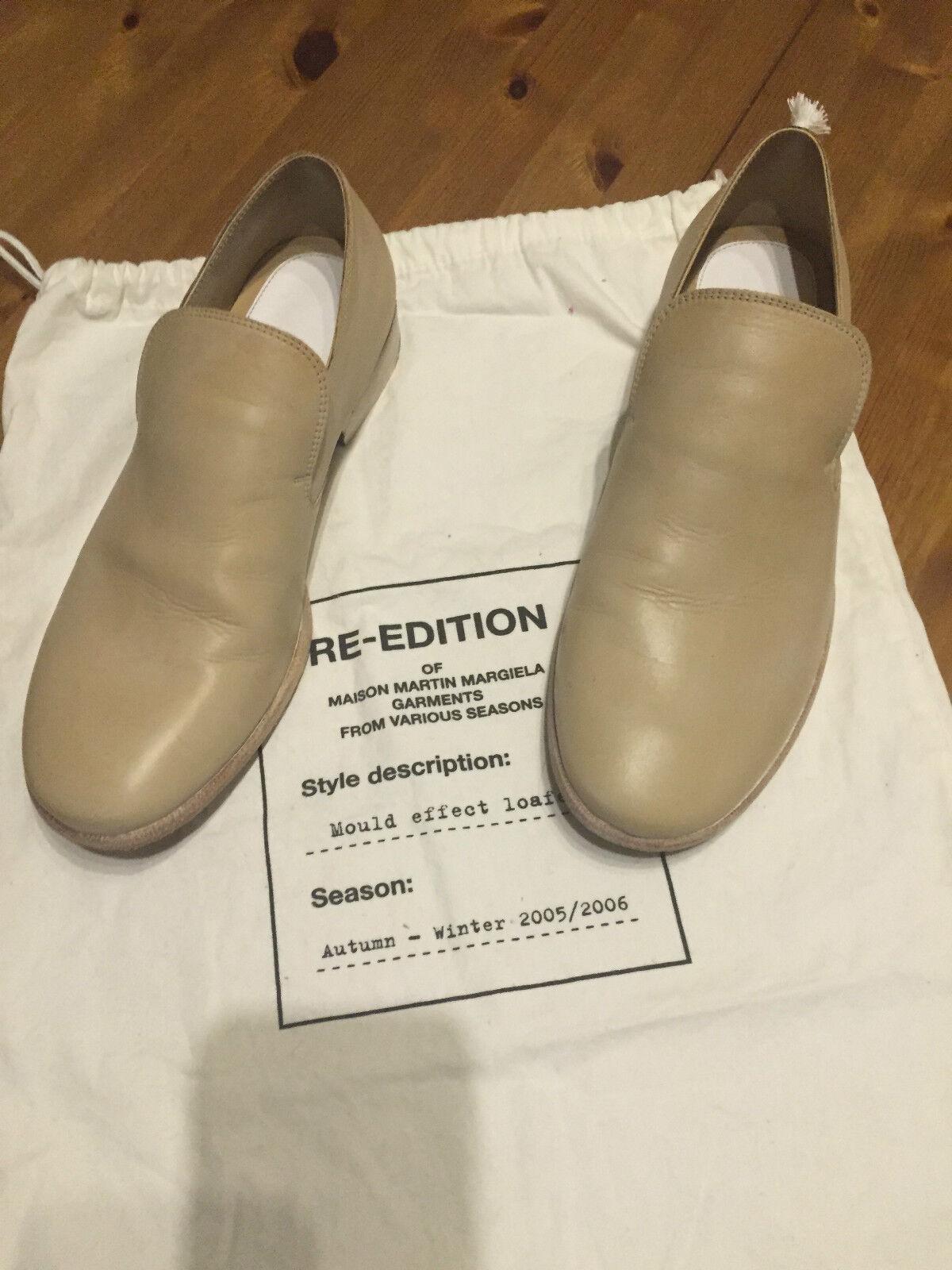 maison martin margiela Schuhe Halbschuhe loafer Leder Leather EUR Gr. 40 / US 7