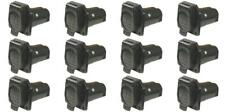Pollak 12-907 Trailer Wiring Connector Car End 9 Way Round Socket 6 PACK
