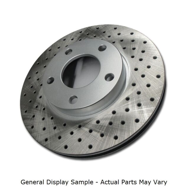 A1047 2004 2005 2006 2007 2008 Acura TSX DRILLED BRAKE ROTORS CERAMIC PADS F+R