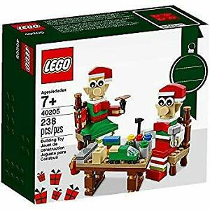 Lego-40205-Christmas-Seasonal-Holiday-Elves-039-Workshop
