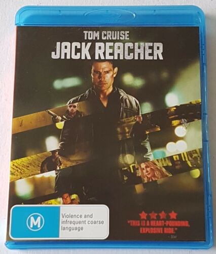 1 of 1 - Jack Reacher Blu-ray, 2013 Like New (#BRD00144)