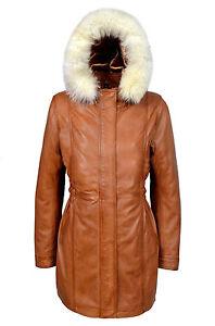 con pelle in pelliccia con collo alto da in di pelliccia Cappotto design donna cappuccio e RwxHqvgvF