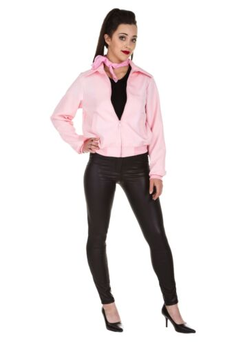 Details about  /Adult Deluxe Pink Ladies Jacket