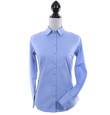 Tommy Hilfiger Women Long Sleeve Solid Button Down Shirt - Free $0 Shipping
