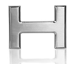 Gürtelschnalle Schnalle Chrom H 32mm für Wechselgürtel Wendegürtel Schließe
