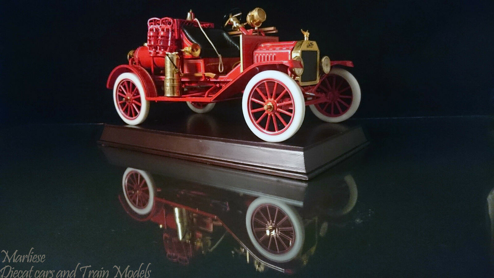 Rare Franklin Mint 1916 Ford Model T Fire Fire Fire Engine e5374d