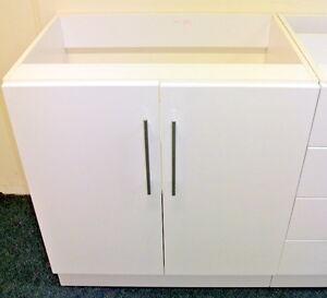 900mm Wide Diy Kitchen Laundry Floor Standing Cupboard Storage