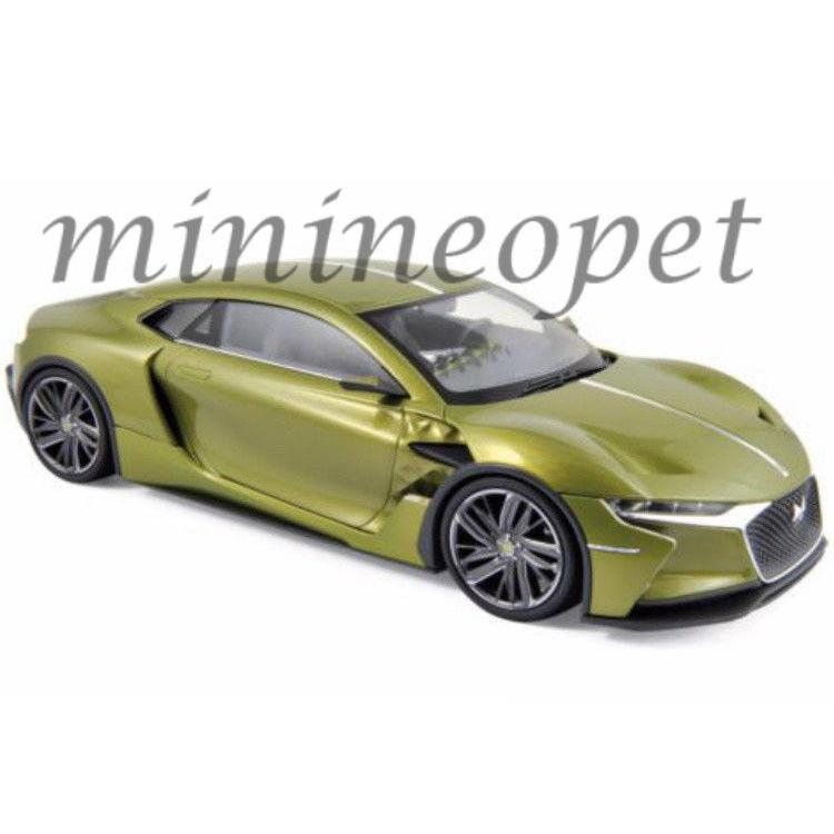 Norev 181700 Citroen DS E-tenso Salon de Geneve 2016 1 18 Diecast Modelo verde