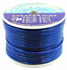 DNF 14 Gauge 100% Copper Blue Speaker Wire 50 Feet - FREE PRIORITY SHIPPING!