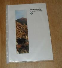 BMW 3 Series E36 Touring BROCHURE 1995 - 318I 320I 328I 318 325 TDS