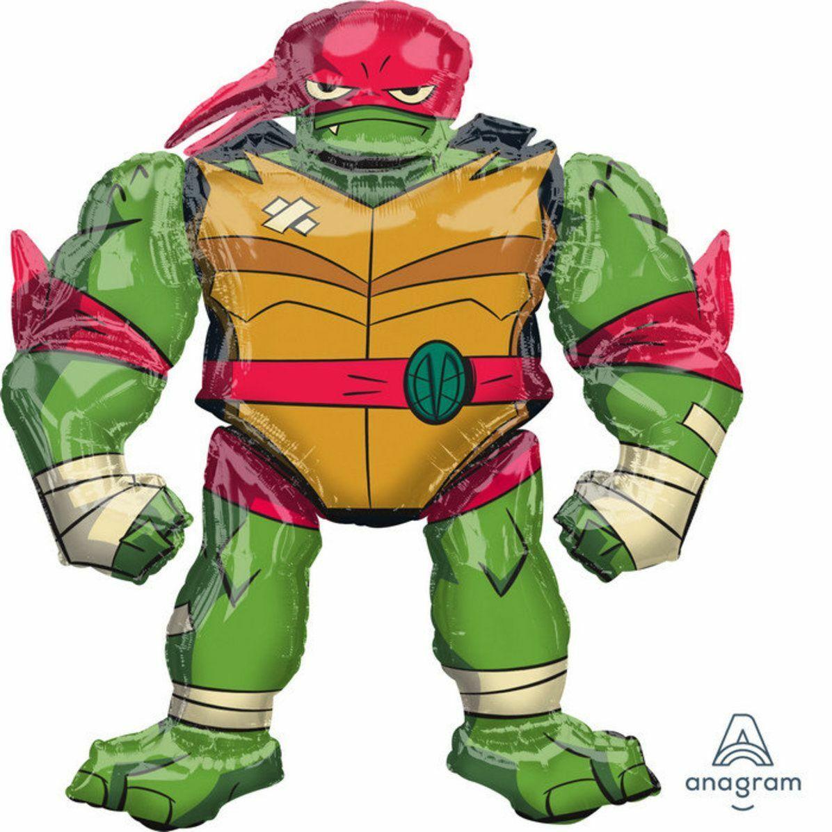 BNIP Teenage Mutant Ninja Turtles Leonardo SuperShape Foil Balloon