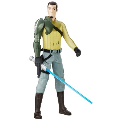 STAR Wars Ribelli 30 cm Electronics DUELLO Action Figure-Kanan Jarrus
