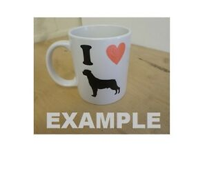 I-Love-Husky-China-Mug-and-or-Coaster-Mug-is-Personalised-with-Name