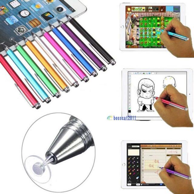 Fine Point Round Thin Capacitive Stylus Pen for iPad 2/3/4/5/Air/Mini/iphone YY