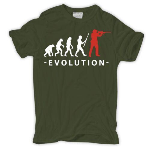 T-shirt Evolution chasseur battue Hobby Loisirs Cadeau Förster Weidmann Heil