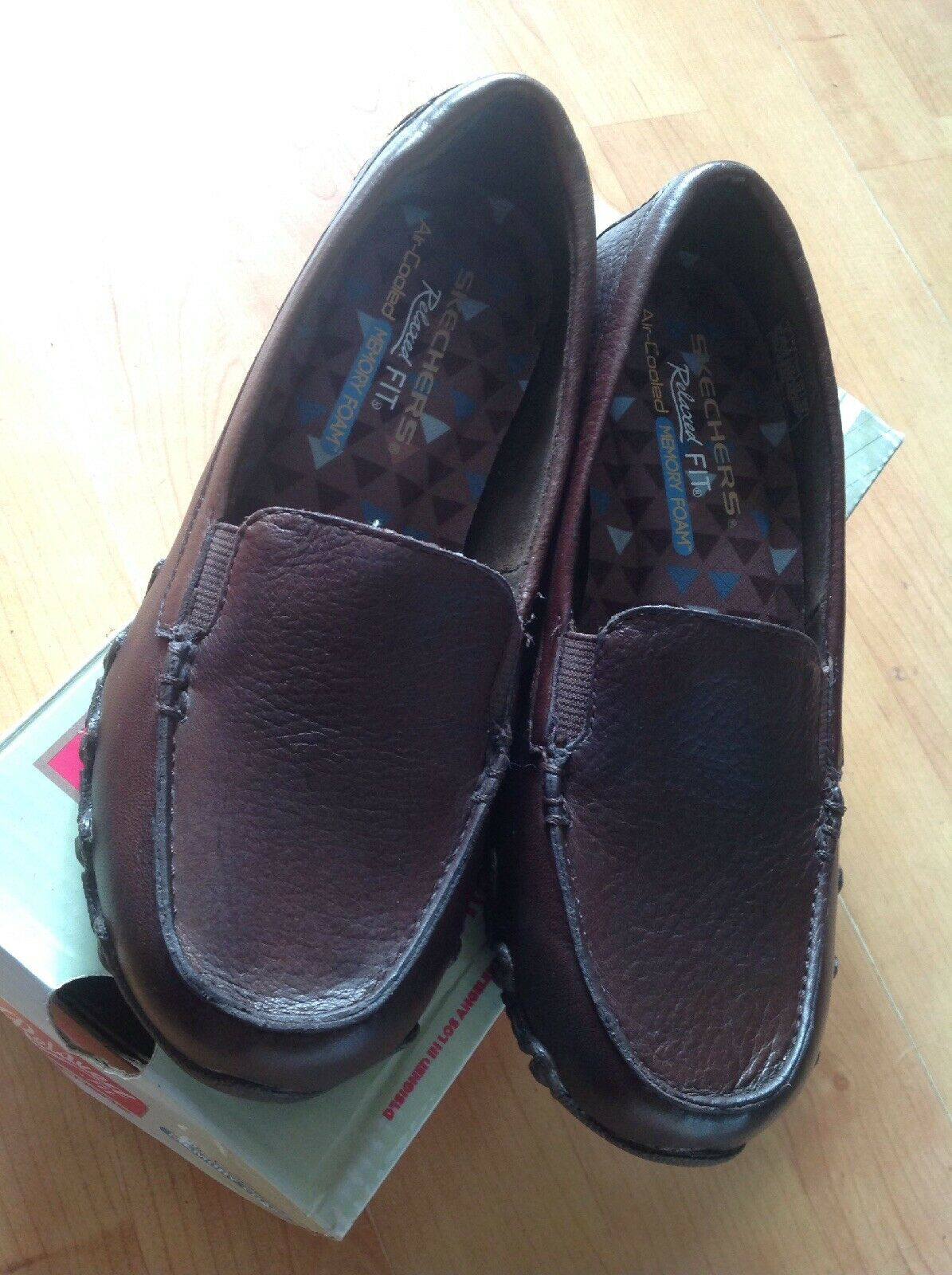 Ladies Brown Skechers Shoes, With Memory Foam Insoles Size 2 New Shop Clearance