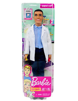 Barbie You Can Be Anything Ken Dentist Doll