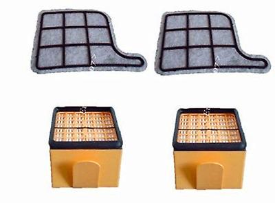 piastrina Frescoaspira Unico MCV20 MCV50 MCV70 MCV85 MCV Polti kit filtri HEPA