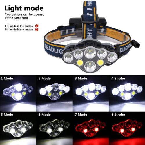 350000LM CREE T6 LED Headlamp Headlight Torch Flashlight Work Light Waterproof