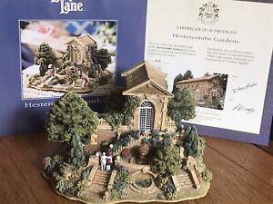 Lilliput-Lane-1997-Ltd-Ed-Hestercombe-Gardens-In-Original-Box-amp-COA