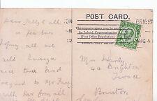 Genealogy Postcard - Family History - Harly - Brixton - London   275A