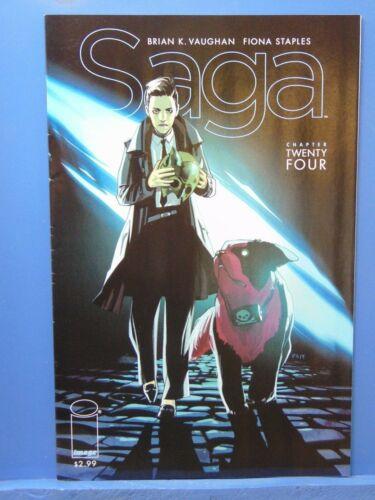 Saga #24  Fiona Staples Brian Vaughan Image Comics  CB13105