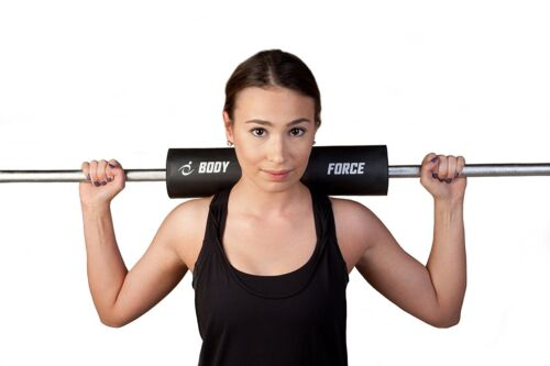"""US SELLER Barbell Pad for Protective Neck Support BY BODY FORCE 16.75/"""" x 3.5/"""""""