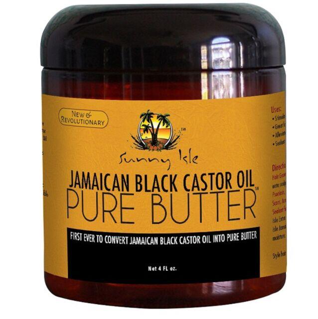 Sunny Isle Jamaican Black Castor Oil Pure Butter 4oz For Sale Online
