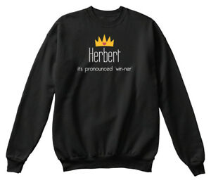 Confortable Its Herbert Sweat Win Ner shirt Pronounced dqrqOwY