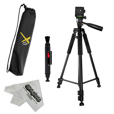"""60-Inch Pro Series Heavy Duty Universal Camera Video Tripod with Clean Kit 60"""""""