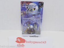 Meta Knight amiibo Figure First Print USA Edition | NiB Very Rare Mint Condition