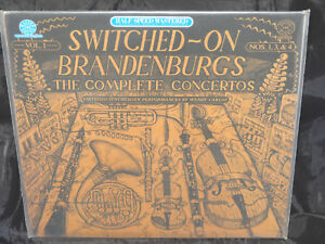 Wendy-Carlos-Switched-On-Brandenburga-Vol-1-Sealed-CBS-Vinyl-Record-Lp-USA-1982