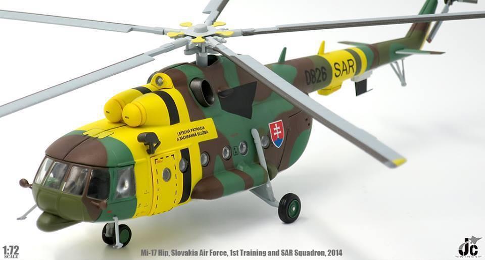 JC vinges JCW -72 -MI17 -001,Mi17 Hip Slovakiska flygagagvapnets första utbildning och SAR Squa