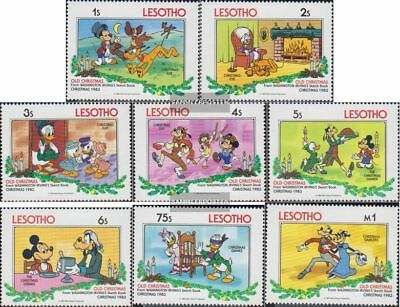 Unmounted Mint complete Issue Never Hinged 1983 Christmas To Ensure Smooth Transmission Genteel Lesotho 433-440
