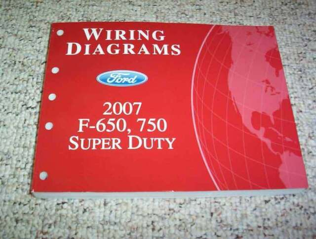 2007 Ford F750 Super Duty Electrical Wiring Diagram Manual