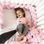 Infant Plush Crib Bumper Bed Bedding Cot Braid Pillows Pad Protector-mo+AAA